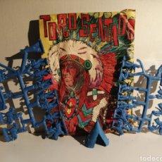 Figuras de Goma y PVC: SOBRE ABIERTO TIPO MONTA PLEX VER FOTOGRAFIAS PARA CONTENIDO. Lote 244744860
