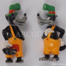 Figuras de Goma y PVC: FIGURA - LOBO FEROZ - PRODS. WALT DISNEY - COMICS SPAIN - LA DE LAS FOTOS. Lote 244761550
