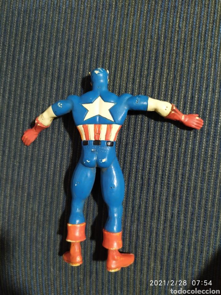 Figuras de Goma y PVC: figura pvc capitan america flexible comics spain - Foto 2 - 244785635
