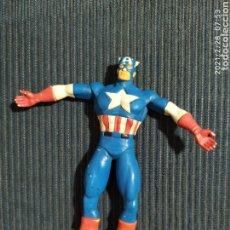 Figuras de Goma y PVC: FIGURA PVC CAPITAN AMERICA FLEXIBLE COMICS SPAIN. Lote 244785635
