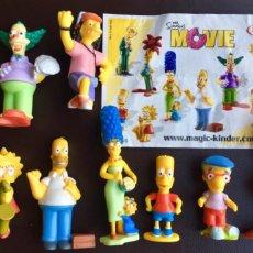 Figuras Kinder: THE SIMPSONS MOVIE MAGIC KINDER FAMILIA SIMPSONS COMPLETA 2007. Lote 244786810