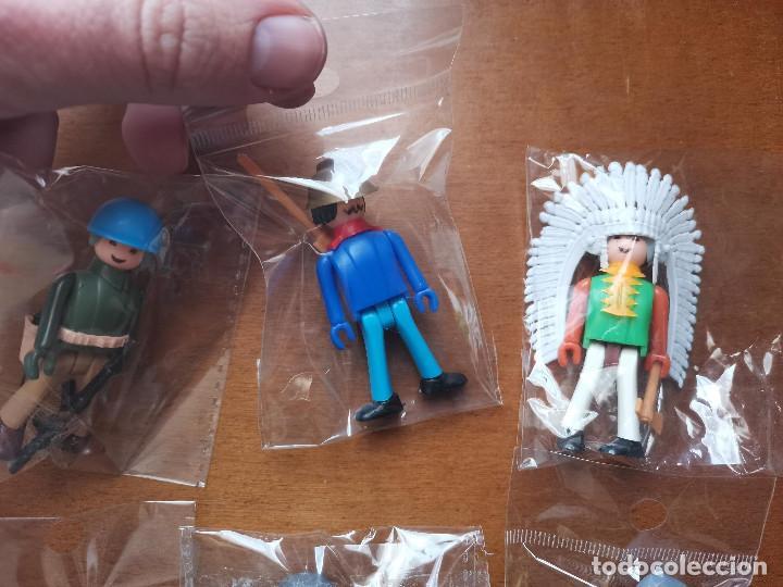 Figuras de Goma y PVC: ocasion coleccionistas lote variados muñecos figuras años 80 Coman Boys de Comansi y carton d regalo - Foto 2 - 244842100