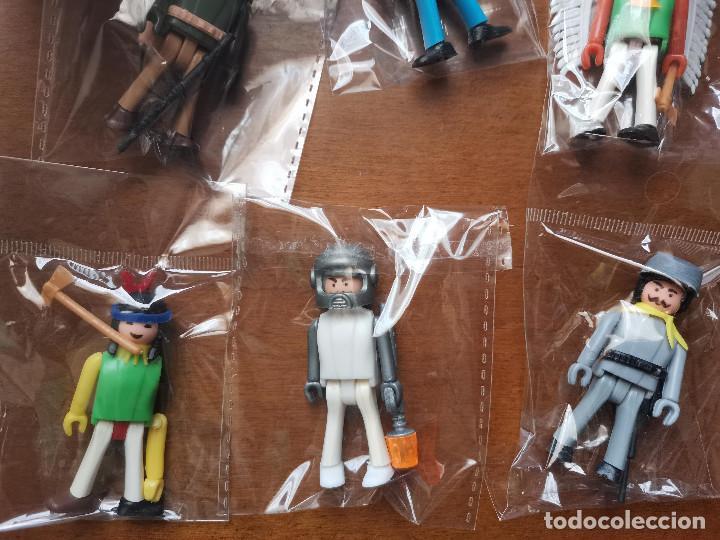 Figuras de Goma y PVC: ocasion coleccionistas lote variados muñecos figuras años 80 Coman Boys de Comansi y carton d regalo - Foto 3 - 244842100