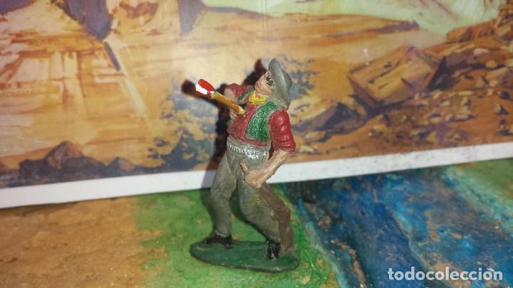 VAQUERO DE LAFREDO GOMA (Juguetes - Figuras de Goma y Pvc - Lafredo)