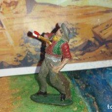 Figuras de Goma y PVC: VAQUERO DE LAFREDO GOMA. Lote 244843365