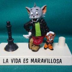 Figuras de Goma y PVC: FIGURA PVC TOM Y JERRY DE CÓMICS FIGURAS - FABRICADO EN ESPAÑA SPAIN. Lote 244877515