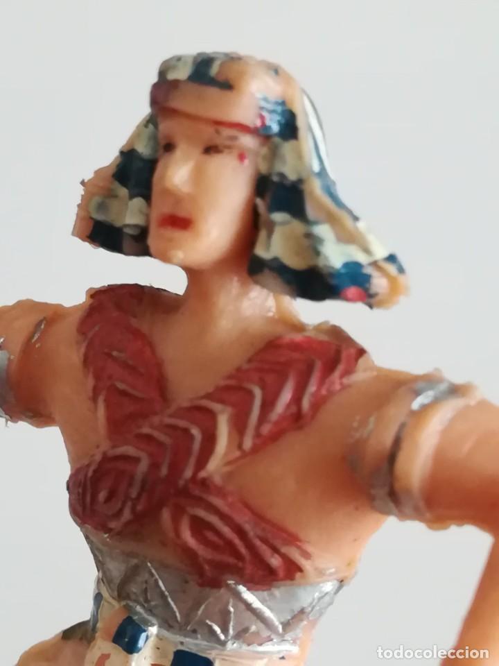 Figuras de Goma y PVC: FIGURA ESTEREOPLAST SERIE EL JABATO - PERSONAJE EGIPCIO - Foto 4 - 244899250
