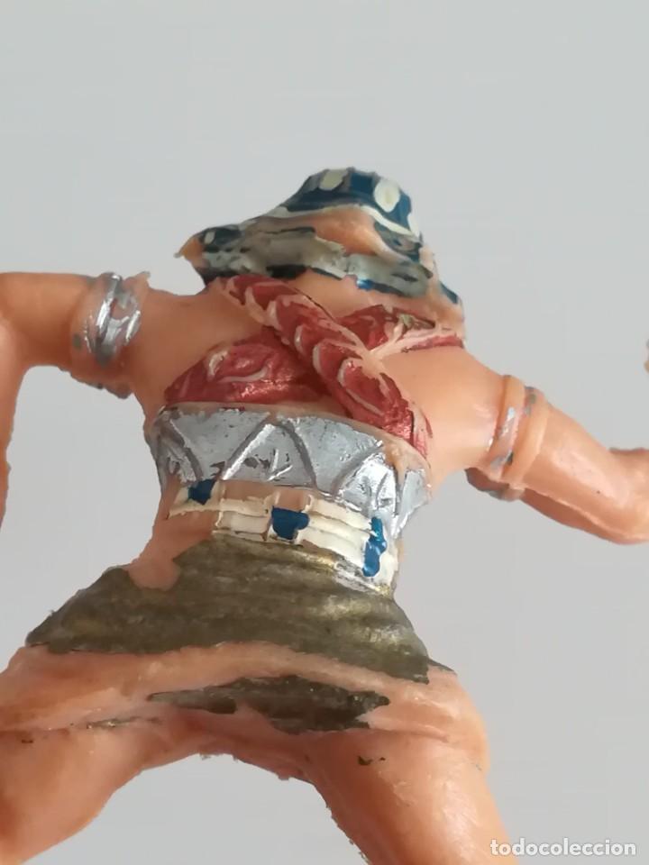 Figuras de Goma y PVC: FIGURA ESTEREOPLAST SERIE EL JABATO - PERSONAJE EGIPCIO - Foto 6 - 244899250