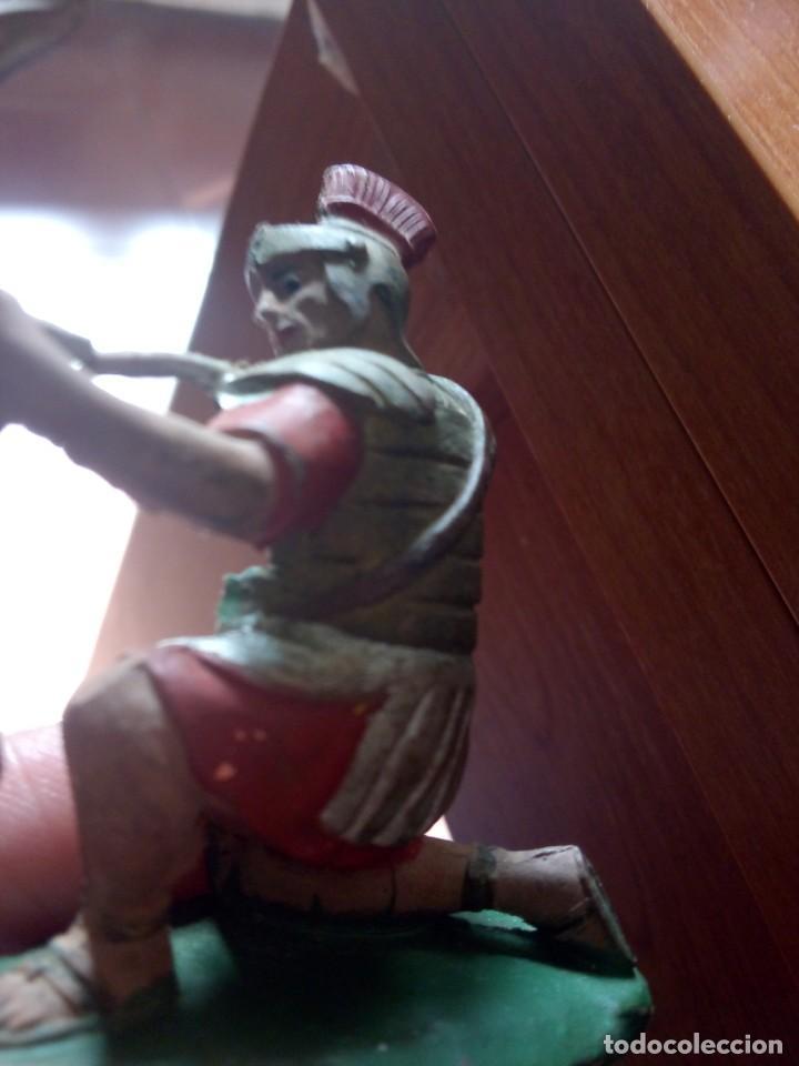 Figuras de Goma y PVC: soldado romano reamsa goma / reamsa goma / romano reamsa / LEGIONES ROMANAS REAMSA - Foto 5 - 244990930