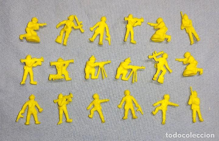 SOLDADOS DUNKIN PREMIUM ORIGINALES AÑOS 70 (Juguetes - Figuras de Goma y Pvc - Dunkin)