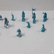 Figuras de Goma y PVC: LOTE DE SOLDADITOS MONTAPLEX - MEDIEVALES . ORIGINAL AÑOS 70 / 80. Lote 245276945