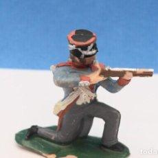 Figuras de Goma y PVC: ANTIGUA FIGURA EN PLÁSTICO DE REAMSA. SOLDADO DE LA GUERRA DE LA INDEPENDENCIA. REF PAT - 249. Lote 245283270