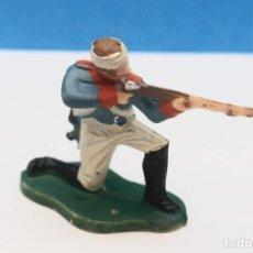 Figuras de Goma y PVC: ANTIGUA FIGURA EN PLÁSTICO DE REAMSA. SOLDADO DE LA GUERRA DE LA INDEPENDENCIA. REF PAT - 232. Lote 245283995