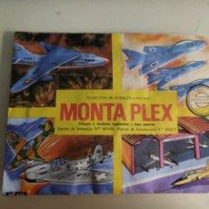 Figuras de Goma y PVC: MONTAPLEX AVIONES A ESCALA CERRADO NUEVO N° 425. MONTA PLEX. Lote 245393280