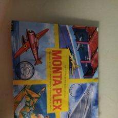 Figuras de Goma y PVC: MONTAPLEX AVIONES A ESCALA CERRADO NUEVO N° 424. MONTA PLEX. Lote 245394255