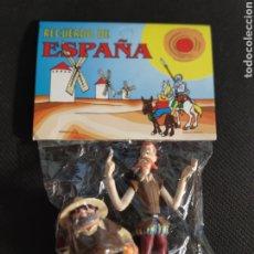 Figuras de Goma y PVC: DON QUIJOTE Y SANCHO PANZA BLISTER PVC MARCA DASI. Lote 245397010