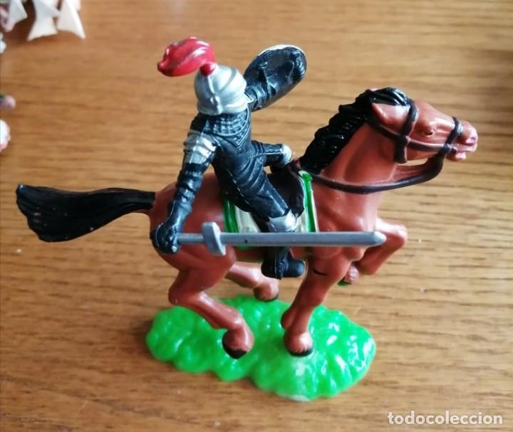 Figuras de Goma y PVC: CABALLERO MEDIEVAL (COMANSI, JECSAN, SOTORRES, LAFREDO, REIGON ETC.) - Foto 2 - 245476720