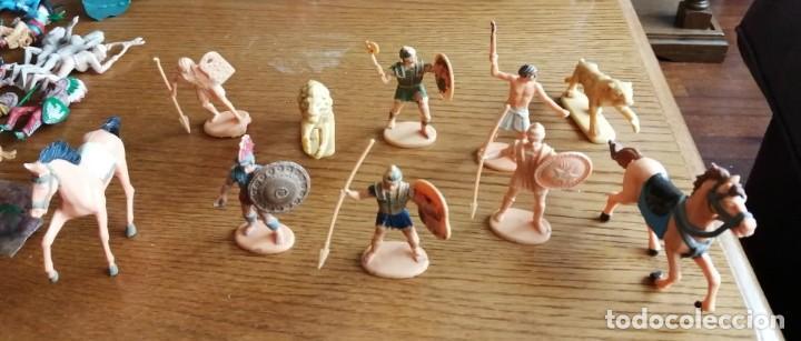 LOTE DE EGIPCIOS (COMANSI, JECSAN, SOTORRES, LAFREDO, REIGON ETC.) (Juguetes - Figuras de Goma y Pvc - Reamsa y Gomarsa)