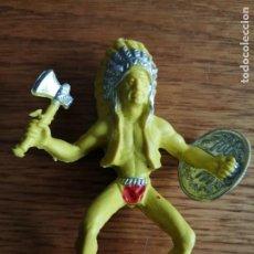 Figuras de Goma y PVC: INDIO DE LAFREDO (COMANSI, JECSAN, SOTORRES, LAFREDO, REIGON ETC.). Lote 245479540