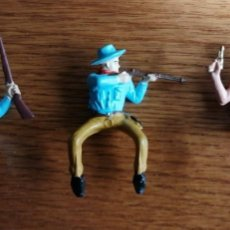 Figuras de Goma y PVC: LOTE DE VAQUEROS (COMANSI, JECSAN, SOTORRES, LAFREDO, REIGON ETC.). Lote 245481665