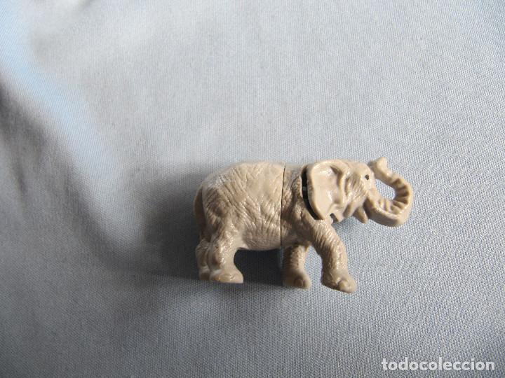 FIGURA KINDER ANTIGUO ELEFANTE DESMONTABLE (Juguetes - Figuras de Gomas y Pvc - Kinder)
