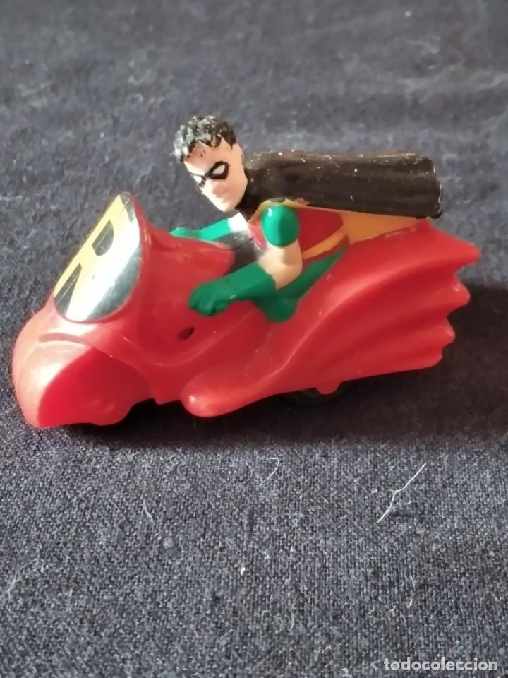 ROBIN EN SU MOTO DE BATMAN 1993 (Juguetes - Figuras de Goma y Pvc - Otras)