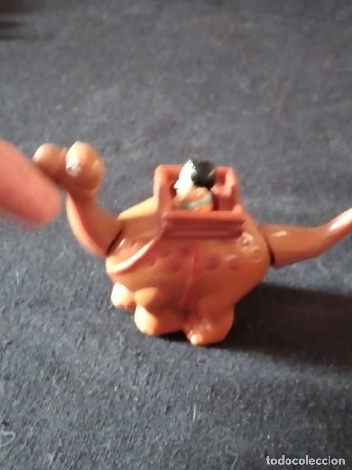 Figuras de Goma y PVC: Figura pedro pica piedra en su dinosaurio,con movimiento.u.c.s. pvc - Foto 4 - 245754240