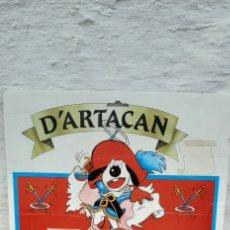 Figure di Gomma e PVC: CARTON BLISTER PARA MUÑECOS D'ARTACAN AÑOS 80. Lote 246128450