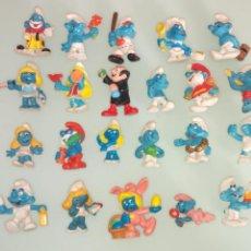Figuras de Goma y PVC: LOTE PITUFOS. TAMBIEN SUELTOS A ESCOGER PRECIO UNITARIO. Lote 263810995