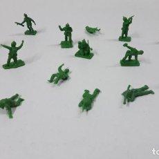 Figuras de Goma y PVC: LOTE DE SOLDADITOS MONTAPLEX . AMERICANOS . AÑOS 70 / 80. Lote 246323210