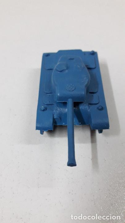 Figuras de Goma y PVC: TANQUE - MONTAPLEX . AÑOS 70 / 80 - Foto 3 - 246323770