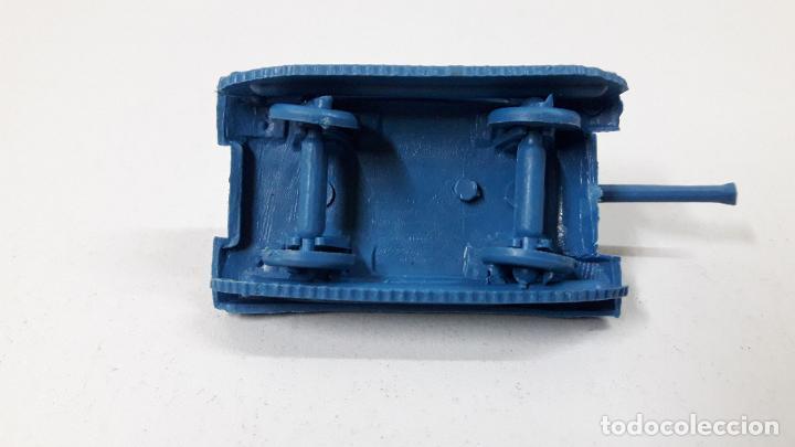 Figuras de Goma y PVC: TANQUE - MONTAPLEX . AÑOS 70 / 80 - Foto 5 - 246323770