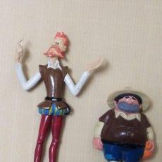 Figuras de Goma y PVC: PVC SANCHO DON QUIJOTE FIGURAS ROMAGOSA DELGADO GOMA CERVANTES AÑOS 80. Lote 246327570