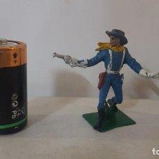 Figuras de Borracha e PVC: SOLDADO YANQUI DEL OESTE AMERICANO EN PLASTICO DE PECH. Lote 246371950