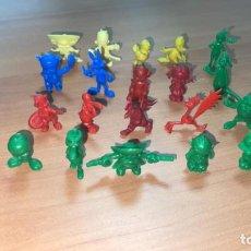 Figuras de Goma y PVC: COLECCION COMPLETA FIGURAS DUNKIN - WARNER EN SUS COLORES AÑOS 70.. Lote 246438610