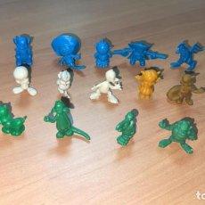 Figuras de Goma y PVC: LOTE DE 14 FIGURAS DUNKIN - WARNER EN SUS COLORES AÑOS 70.. Lote 246439700