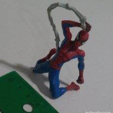 Figuras de Goma y PVC: SPIDERMAN MUÑECO GOMA PVC FIGURITA MARVEL SPIDER MAN HOMBRE ARAÑA. Lote 246478470