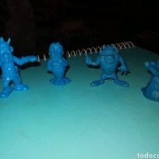 Figuras de Goma y PVC: 4 FIGURAS DUNKIN. Lote 246585035