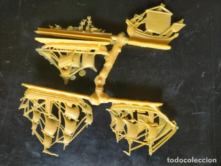 Figuras de Goma y PVC: HAGA SU OFERTA POR LOTES, montaplex monta plex barcos vela veleros amarillos - Foto 2 - 246651635