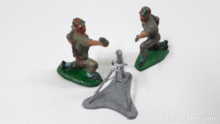 Figuras de Goma y PVC: MORTERO CON BASE . POSIBLEMENTE REALIZADO POR PECH . ORIGINAL AÑOS 60 . FIGURAS NO INCLUIDAS - Foto 2 - 246730340