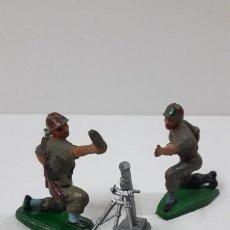 Figuras de Goma y PVC: MORTERO CON BASE . POSIBLEMENTE REALIZADO POR PECH . ORIGINAL AÑOS 60 . FIGURAS NO INCLUIDAS. Lote 246730340