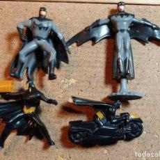Figuras de Goma y PVC: FIGURAS DE BATMAN CON MOVIMIENTO MIDEN UNOS 10 CM CADA UNA. Lote 246957765
