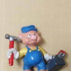 Figuras de Goma y PVC: PVC BULLYLAND AÑOS 80 LOS TRES CERDITOS BULLY FIGURA PVC. Lote 247209705