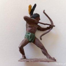 Figuras de Goma y PVC: FIGURA INDIO GOMA PECH HNOS. Lote 247231545