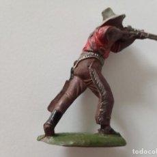 Figuras de Goma y PVC: FIGURA VAQUERO GOMA LAFREDO. Lote 247231980
