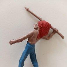 Figuras de Goma y PVC: FIGURA INDIO REAMSA GOMA. Lote 247232615