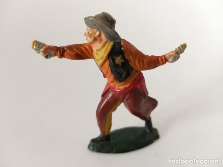 VAQUERO GOMA TEIXIDO (Juguetes - Figuras de Goma y Pvc - Teixido)