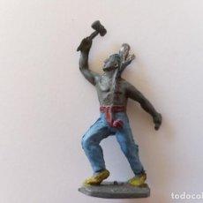 Figuras de Borracha e PVC: FIGURA INDIO GOMA AÑOS 50. Lote 247233500