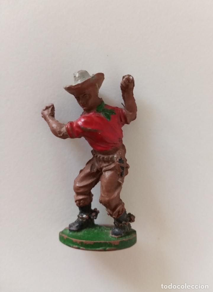 VAQUERO LAFREDO GOMA (Juguetes - Figuras de Goma y Pvc - Lafredo)