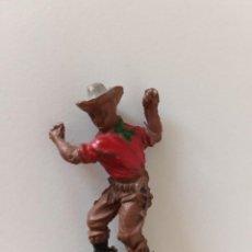 Figuras de Goma y PVC: VAQUERO LAFREDO GOMA. Lote 247233805
